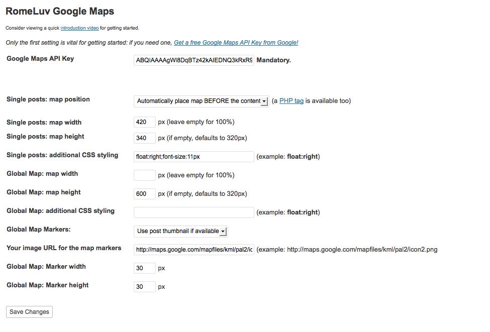 How To Setup Google Maps Into Wordpress Posts