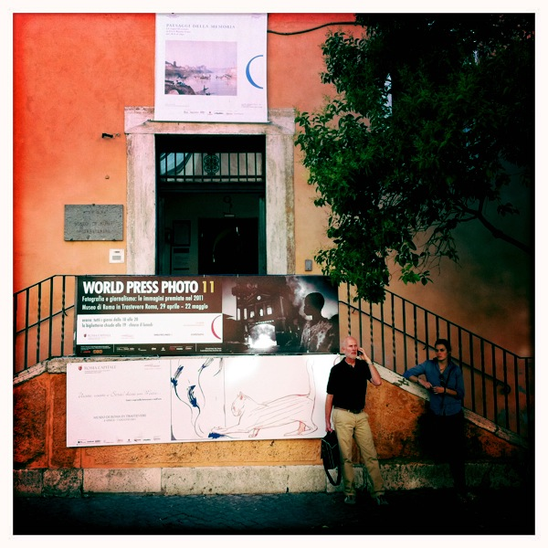 Museo di roma in trastevere rome luv for Temporary office roma