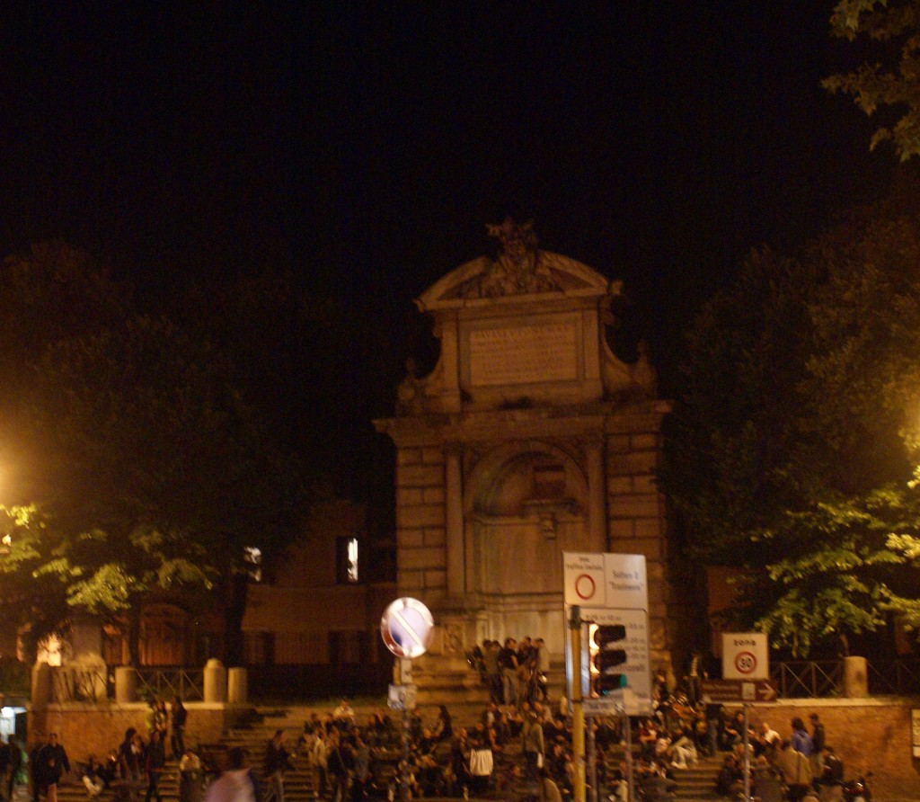 Nightlife in Trastevere