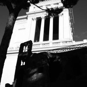 Piazza Venezia Old Ruins