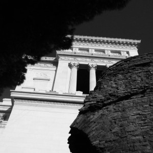 Piazza Venezia Black & White