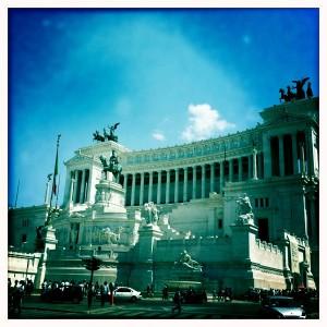 Piazza Venezia front view