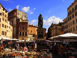 Campo Dei Fiori: A Brief Tour Guide