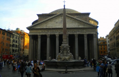 pantheon rome front
