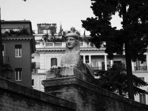 piazza del popolo statue