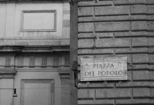 piazza popolo rome