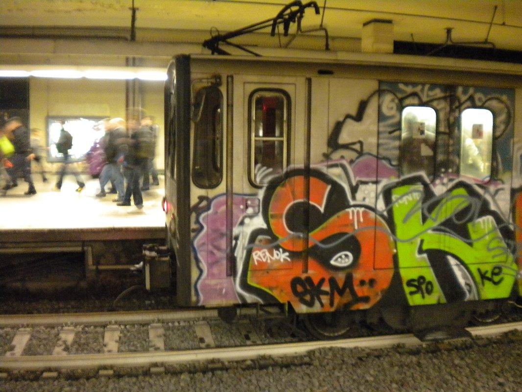 Roman graffiti vandalism or artistic expression rome luv
