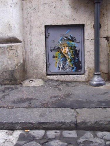 sreet art rome