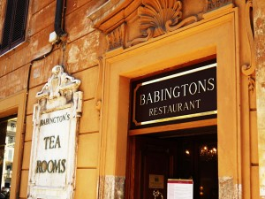 Babington's Tea Room