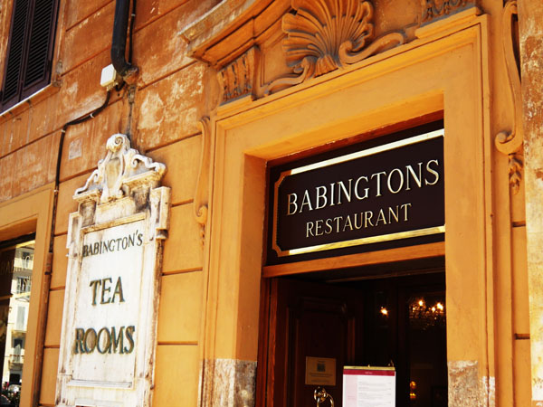 Babington Tea Room Rome
