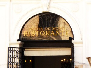 Trinita de Monti Ristorante & Wine Bar