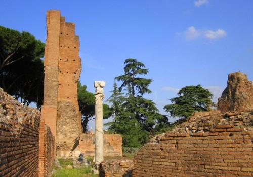 hill palatine ruins