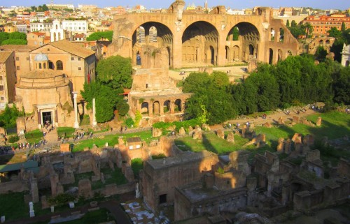 palatine hill look out