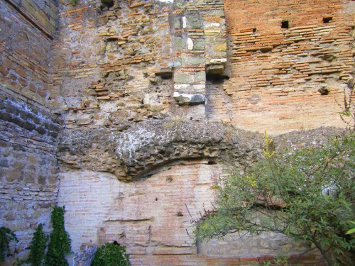 rome palatine wall