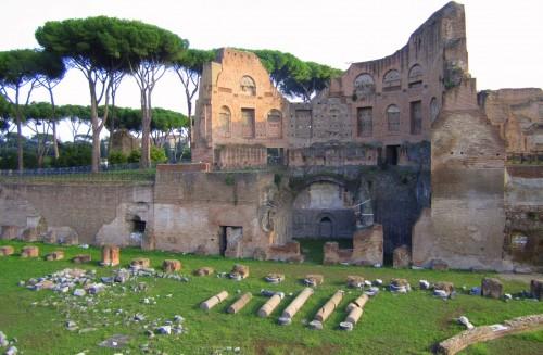 rome ruins palatine