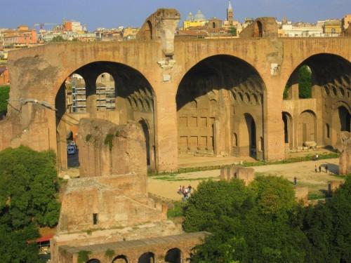 view palatine rome