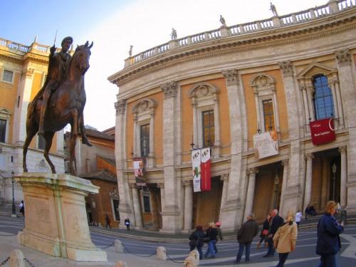 Campidoglio rome piazza