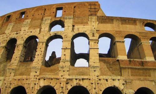 colosseum rome exterior