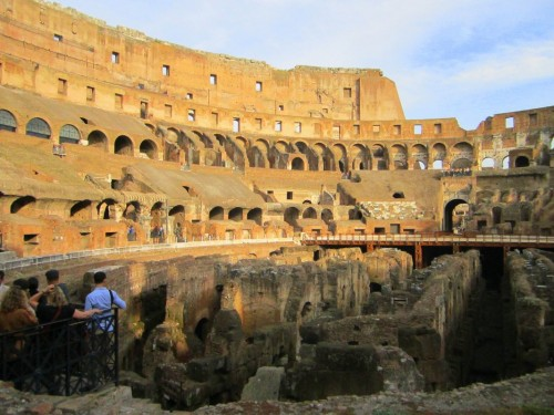 colosseum rome floor