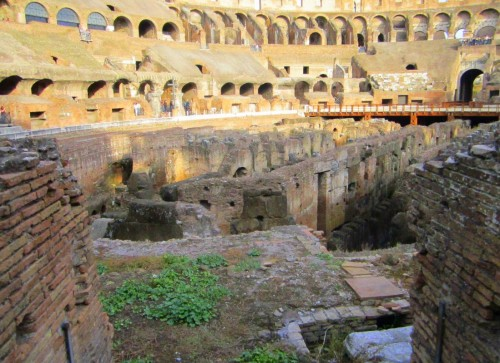 colosseum rome underground