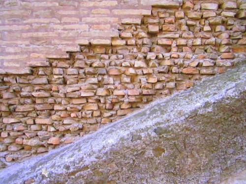 colosseum wall rome