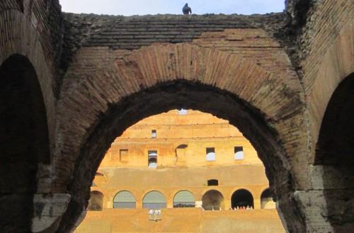 rome colosseum balcony