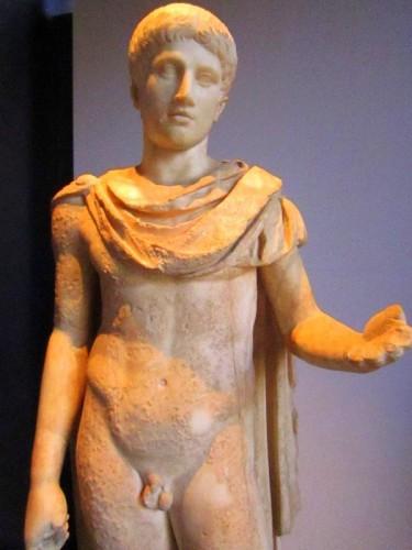 rome colosseum boy