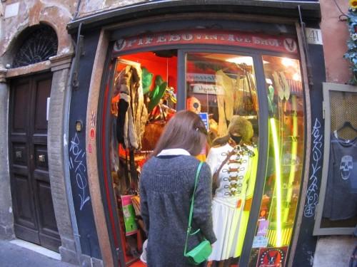 vintage shop rome