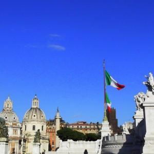 Piazza Venezia Side View